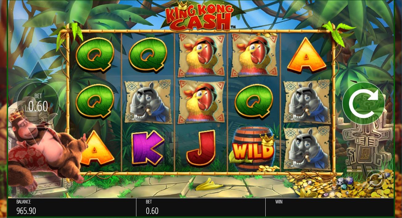 King kong cash игровой автомат онлайн